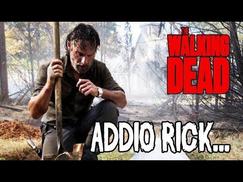 The Walking Dead 9 ITA - LA FINE DI TWD - RICK GRIMES LASCIA LA SERIE! COSA SUCCEDERA'?