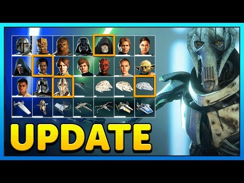 MAXED OUT GRIEVOUS SOON Star Wars Battlefront 2 Collection Update