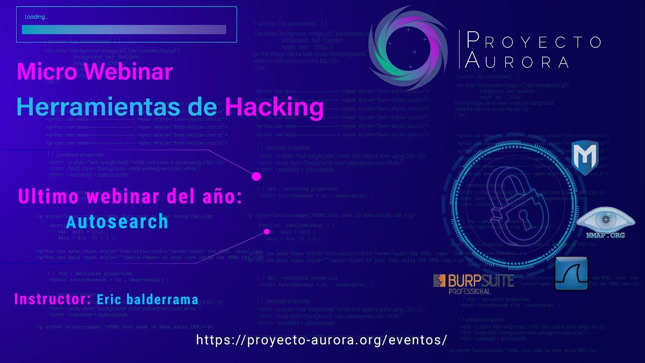 """Herramientas de Hacking: """"Autosearch"""""""