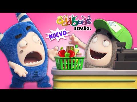 En el Supermercado - Oddbods | Caricaturas Graciosas Para Niños