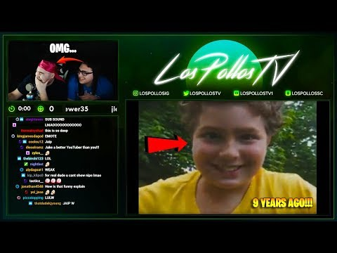 LosPollosTv & His Brother Almost Brought To TEARS Reacting To Hilarious Video From 9 Years AGO!