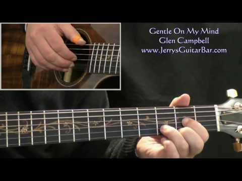 How To Play Glen Campbell Gentle On My Mind (intro only)