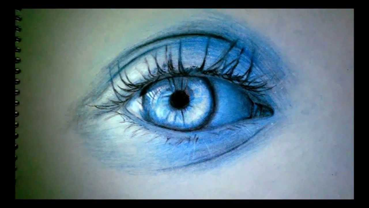 Mavi Göz Çizimi - YouTube