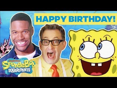 Happy Birthday, SpongeBob! 🎉 Jonas Brothers, Jace Norman & More CELEBrate! | #TuesdayTunes