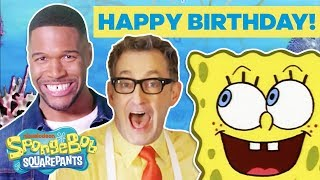 Happy Birthday, SpongeBob! 🎉 Jonas Brothers, Jace Norman & More CELEBrate! | #TuesdayTunes