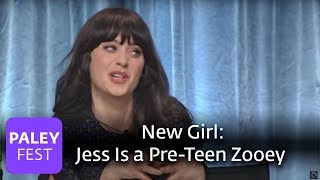 New Girl - Jess Is a Pre-Teen Zooey Deschanel