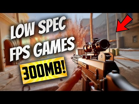 Top 5 (Free) Low Spec FPS Games Under 300mb ➤With Download Links! 2GB RAM/No GPU/Dual Core CPU -2020