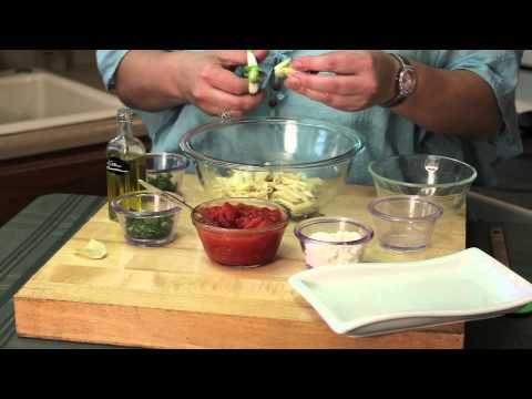 Penne Pasta With Artichokes & Cottage Cheese : Easy Pasta Salads