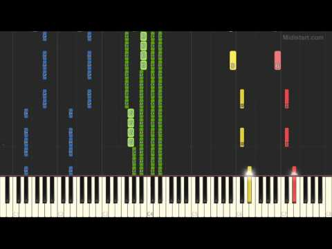 Ryuichi Sakamoto - Rain [Ver.2] (Piano Tutorial) [Synthesia Cover]