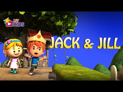 Jack And Jill Went Up The Hill with Lyrics | LIV Kids Nursery Rhymes and Songs | HD
