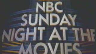 Incredible Hulk Returns NBC Sunday Night Movie Trailer 1988