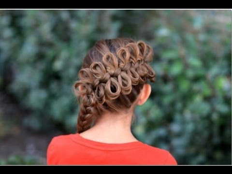 Cute Braided Hairstyles For White Kids Youtube