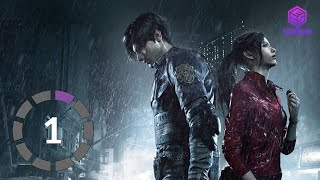 RESIDENT EVIL 2 REMAKE Gameplay Walkthrough Part01 Leon Story A - No Commentary