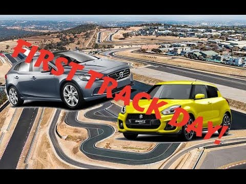 My First Track Day | Suzuki Swift Sport & Volvo V40 Review