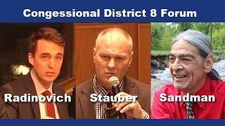Radinovich Stauber & Sandman -MN CD8 Candidate Forum
