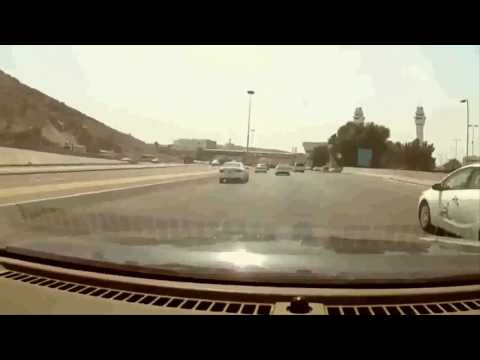 Makkah to Madinah by road, Car driving in KSA