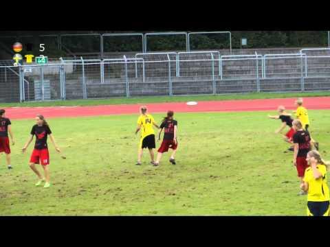EUF U17 2010 - Women's FInal - Germany vs Sweden
