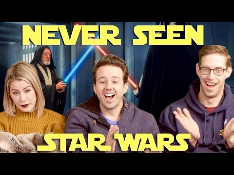 Adults Watch STAR WARS For The First Time