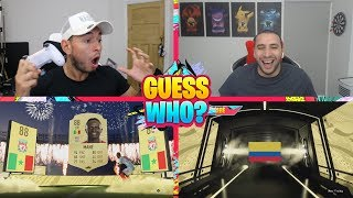 OUR PACK LUCK IS INSANE 😱 INTENSE GUESS WHO FIFA vs Itani (FIFA 20)