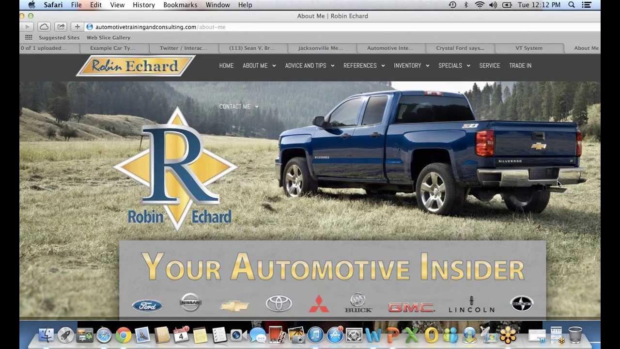 Car Salesman Training - Showroom Sales Consultant Website - Personal ...