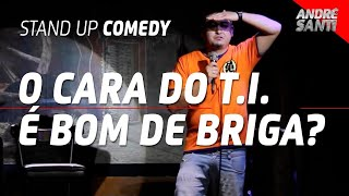 FERNANDO E OS AMIGOS DO T.I. | André Santi | Stand Up Comedy