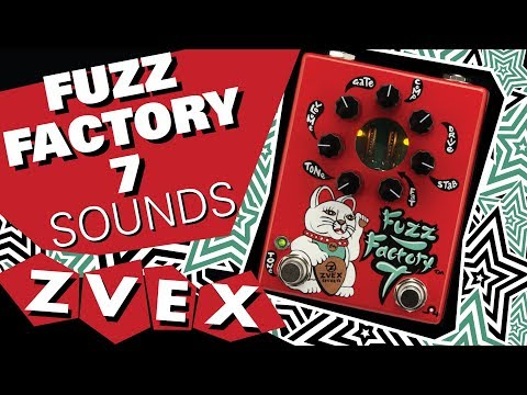 ZVEX Fuzz Factory 7 Various Sounds