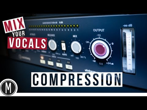 MIX YOUR VOCALS – How to use COMPRESSION in CUBASE 9.5