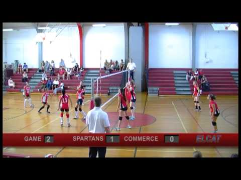Spartans Girls Volleyball vs. Commerce