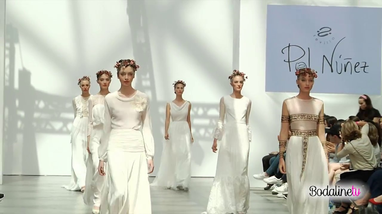 17 Madrid Nuñez Week Pol Bridal Youtube Aj354RL