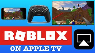 ROBLOX on APPLE TV with CONTROLLER Airplay MFI NIMBUS