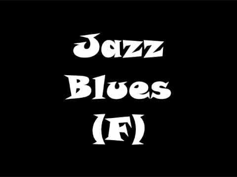 Jazz Blues - Medium Swing Backing Track (F)