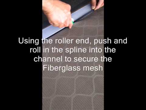 How to install One Way Vision Door Mesh