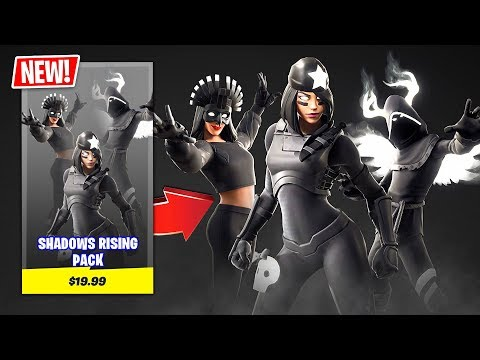 New SHADOWS RISING PACK in Fortnite! (BEST PACK EVER)