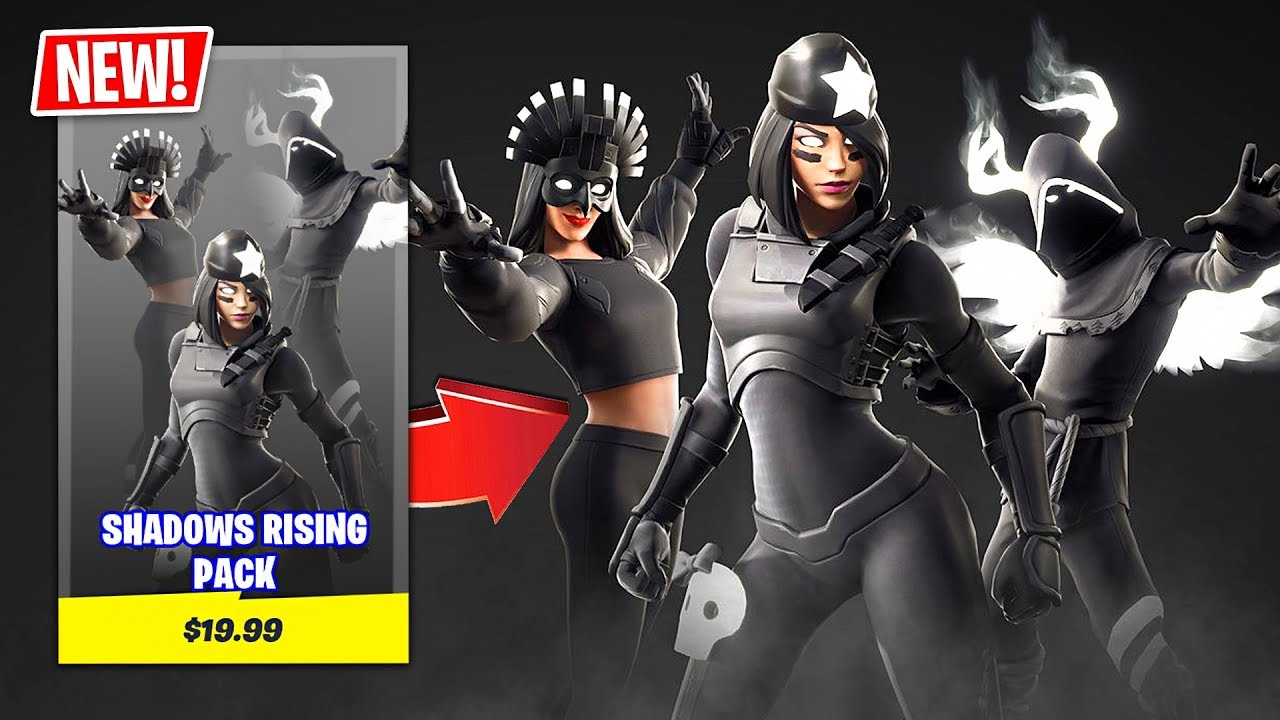 New Shadows Rising Pack In Fortnite Best Pack Ever