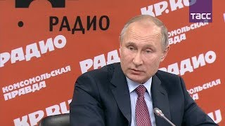 Путин о готовности передать Украине военную технику из Крыма