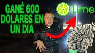 Lime scooters!! Una manera divertida de ganar dinero (Como ganar dinero facil)