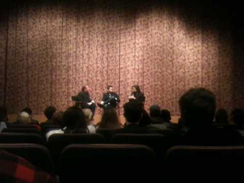 Jason Reitman and Sheldon Turner talk about Up in the Air screenplay.
