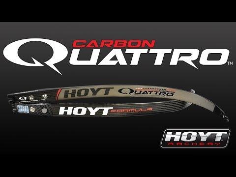 Hoyt Carbon Quattro Recurve Limbs
