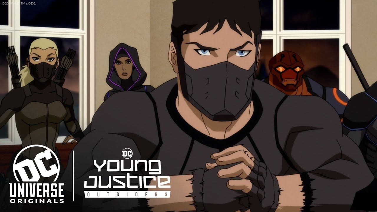 Young Justice Outsiders Finale Teaser Dc Universe The Ultimate Membership Youtube