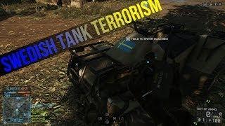 Battlefield 4 Montage: Swedish Tank Terrorism (C4 + Quad Bike vs Tanks)