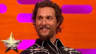 "Matthew McConaughey Has To Say ""Alright"" Three Times 