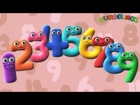 4 Times Tables Song  Numberjacks