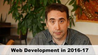 Learning Web Development in 2016-17
