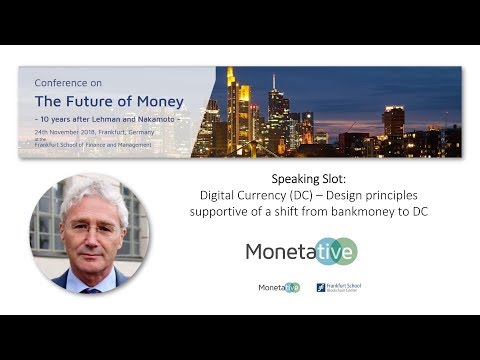 Joseph Huber - How Should a Central Bank Digital Currency (CBDC) be Structured and Designed?