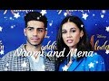 Naomi Scott and Mena Massoud-Cute moments|A whole new world