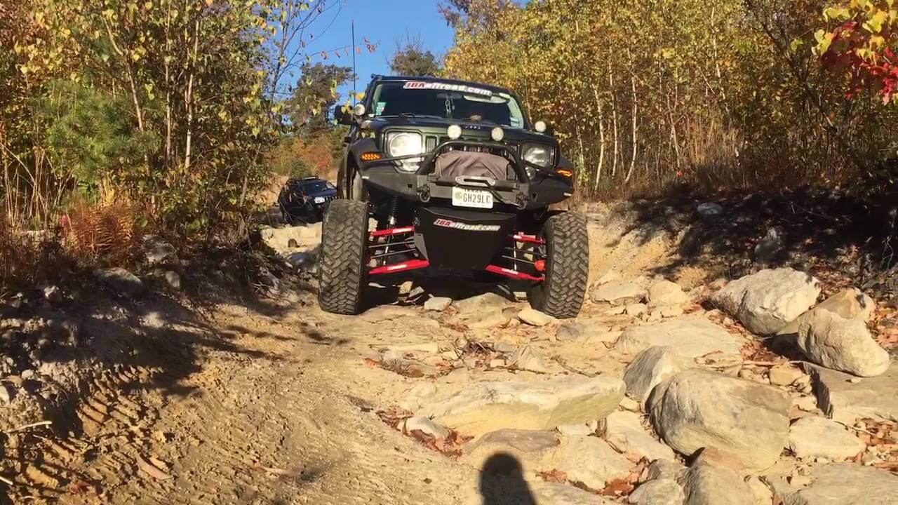 Jeep Liberty Off Road >> Jeep Liberty KK Long Arm IFS lift kit - YouTube