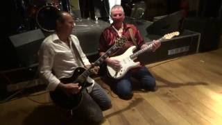 Jimi Barbiani & Rob Tognoni gitaarduel@ Bluesclub The Lane in Oostburg on September 11-2016