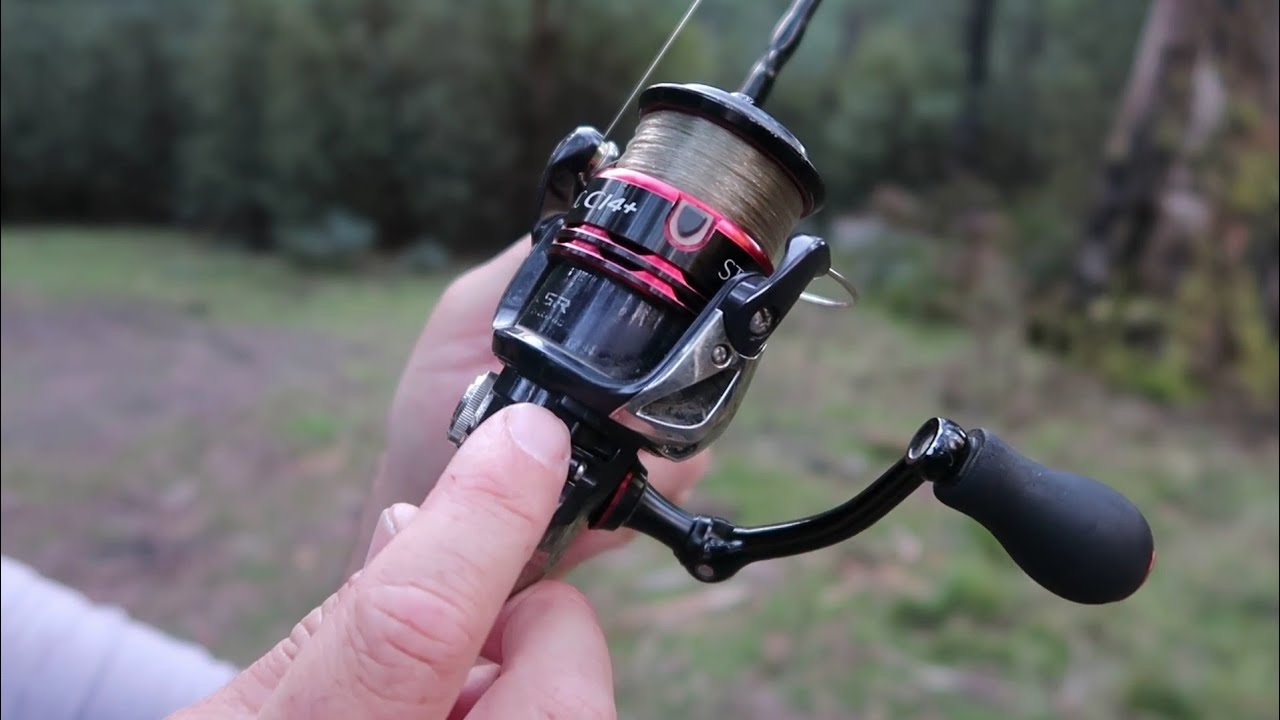 How to use the anti reverse on a fishing reel