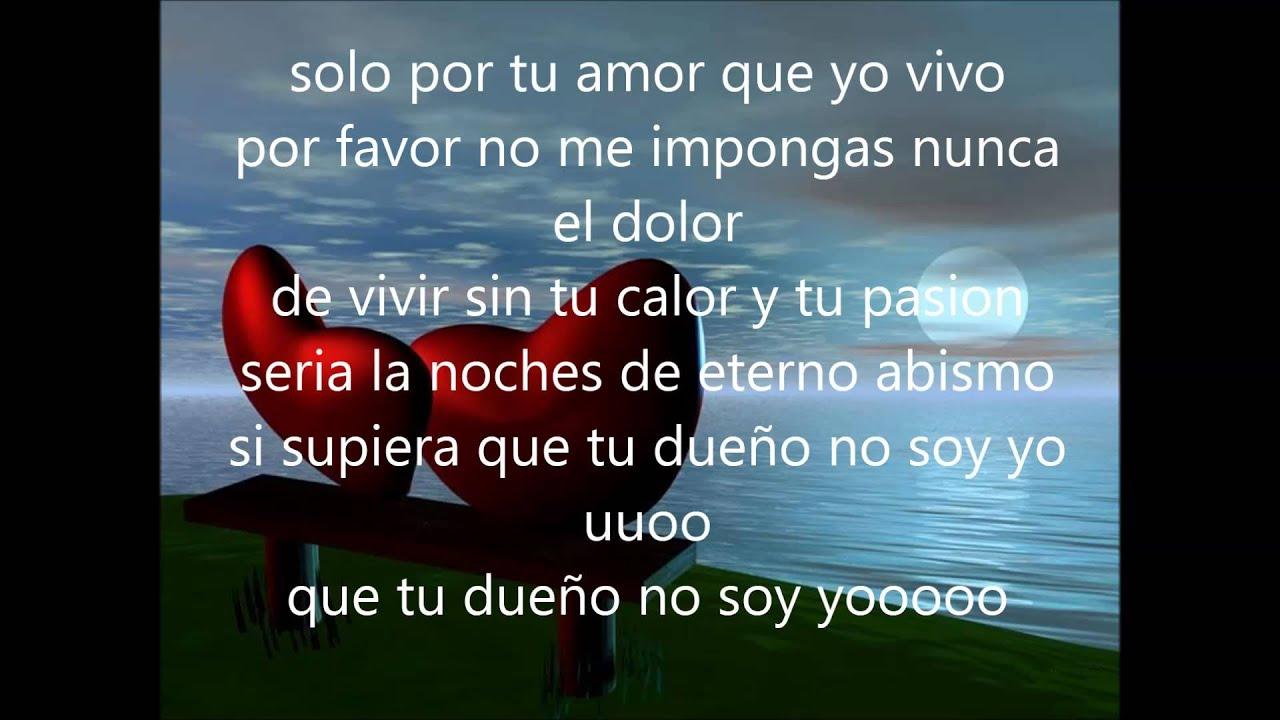 Samo - Solo Por Amor Lyrics