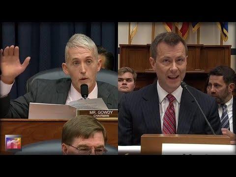 BOOM! Watch Trey Gowdy DESTROY Peter Strzok on HOAX Russia Dossier Lies